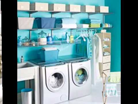 garage laundry room decor ideas youtube. Black Bedroom Furniture Sets. Home Design Ideas