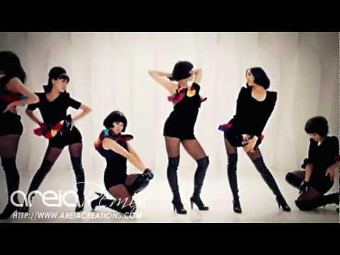 Areia Remix #19 | T-ara - Like The First Time