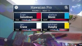 2016 Hawaiian Pro: Round Two, Heat 11