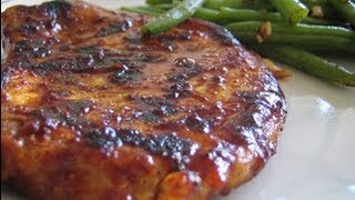 Pork Chops And Stuffing - Healthy Food - Diabetic Food - How To