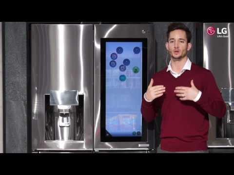 CES 2017: LG Smart InstaView Door-in-Door Kühlschrank mit webOS [Demo]