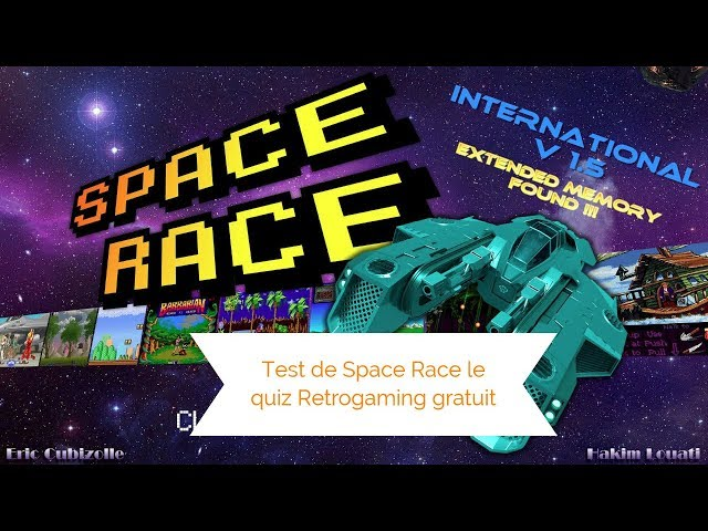 Test de Space Race le quiz Retrogaming gratuit