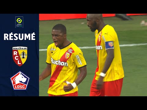 Lens Lille Goals And Highlights