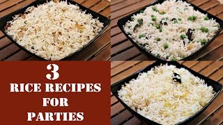 Easy Rice Recipes For Parties | By Neetu Suresh