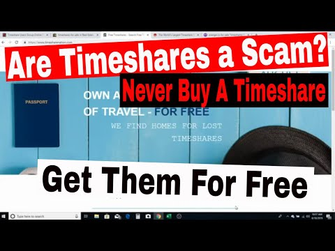 Are Timeshares A Scam? Why You Should Never Buy A Timeshare❗️