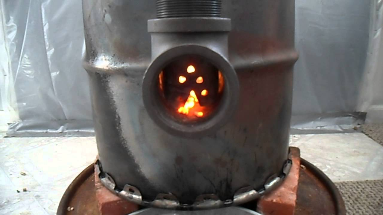 Rocket Stove 3 0 With Pellet Feeder Youtube