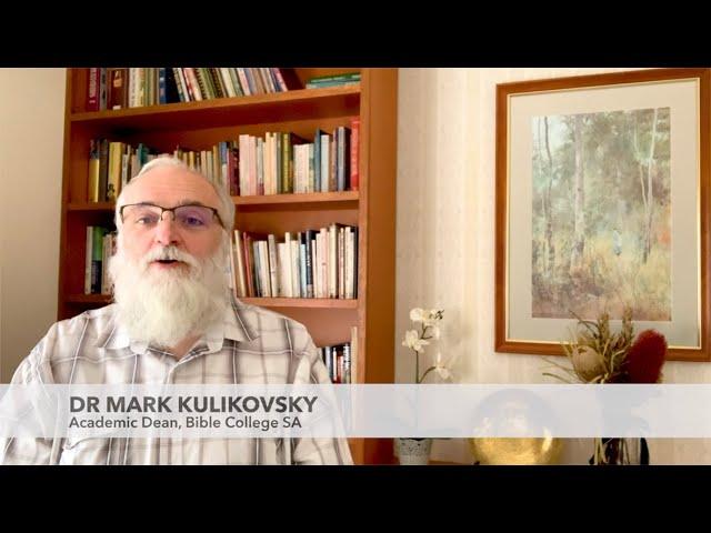 Studying at BCSA  I  Dr Mark Kulikovsky