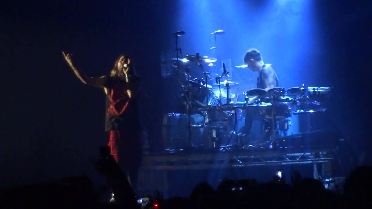 30 seconds to mars - stay (cover) at glasgow hydro uk tour ...
