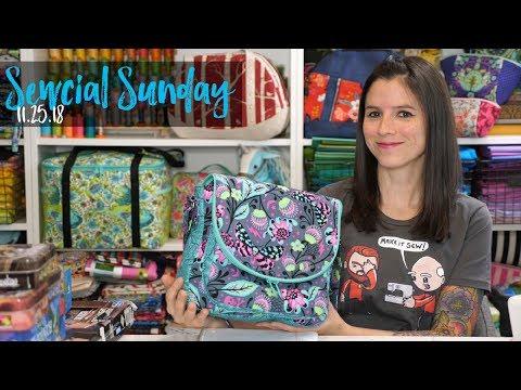 Sewcial Sunday - Dot Dot Dash Bag Sew Along Results