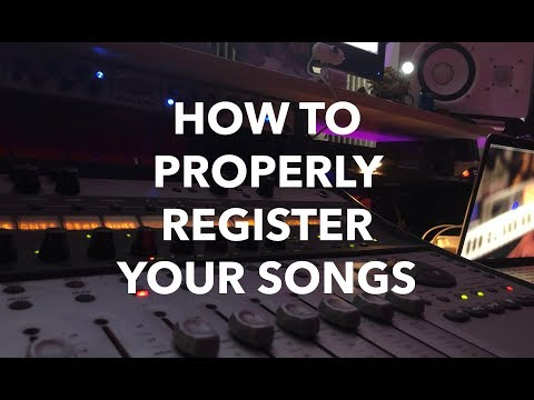 How To Properly Register Your Songs (BMI, ASCAP, SESAC) | Step-By-Step Mp3
