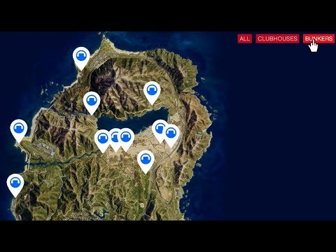 E169 All 11 New Gunrunning Bunker Locations Guide Let S Play Gta 5 Online Pc 60fps Hd Youtube