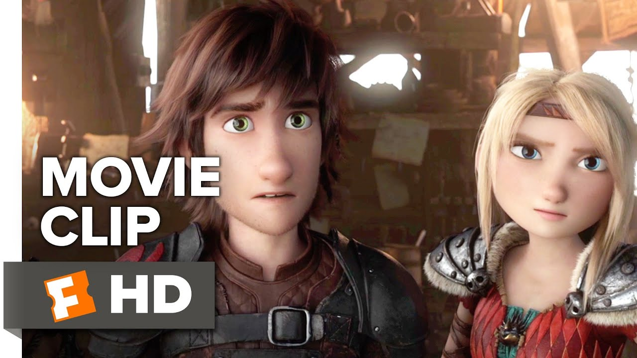 How To Train Your Dragon The Hidden World Clip Eret Warns The