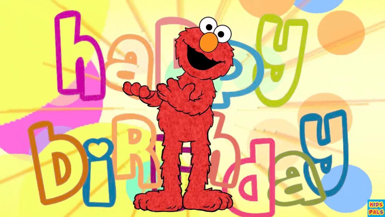 elmo happy birthday Happy birthday greetings from Elmo|Sesame Street|Nursery rhyme  elmo happy birthday