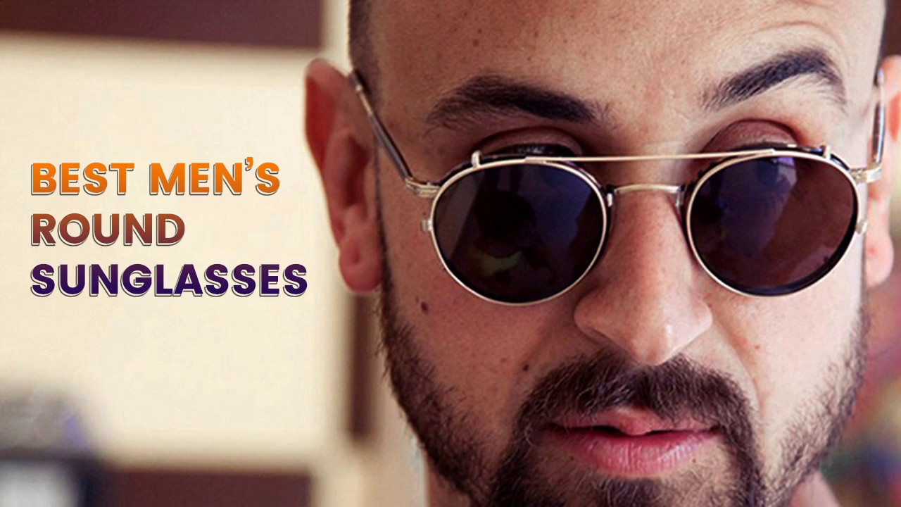 d229b2f06f4 Best men s round sunglasses - YouTube