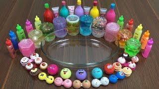 MIXING STORE BOUGHT SLIME WITH MAKEUP AND LIP BALM | RELAXING SLIME | SATISFYING SLIME VIDEOS
