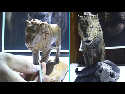 Sculpting SCAR In Clay / Helios Ramdez / The Lion King 2019
