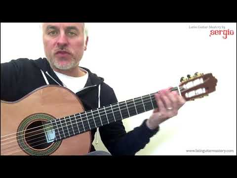 Phrygian Scale Flamenco Guitar Modes