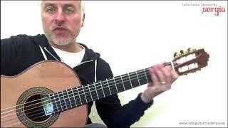�������� ���� Phrygian Scale Flamenco Guitar Modes ������