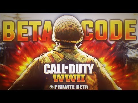 *FREE* CALL OF DUTY WW2 BETA CODES FOR PS4/XBOX ONE!