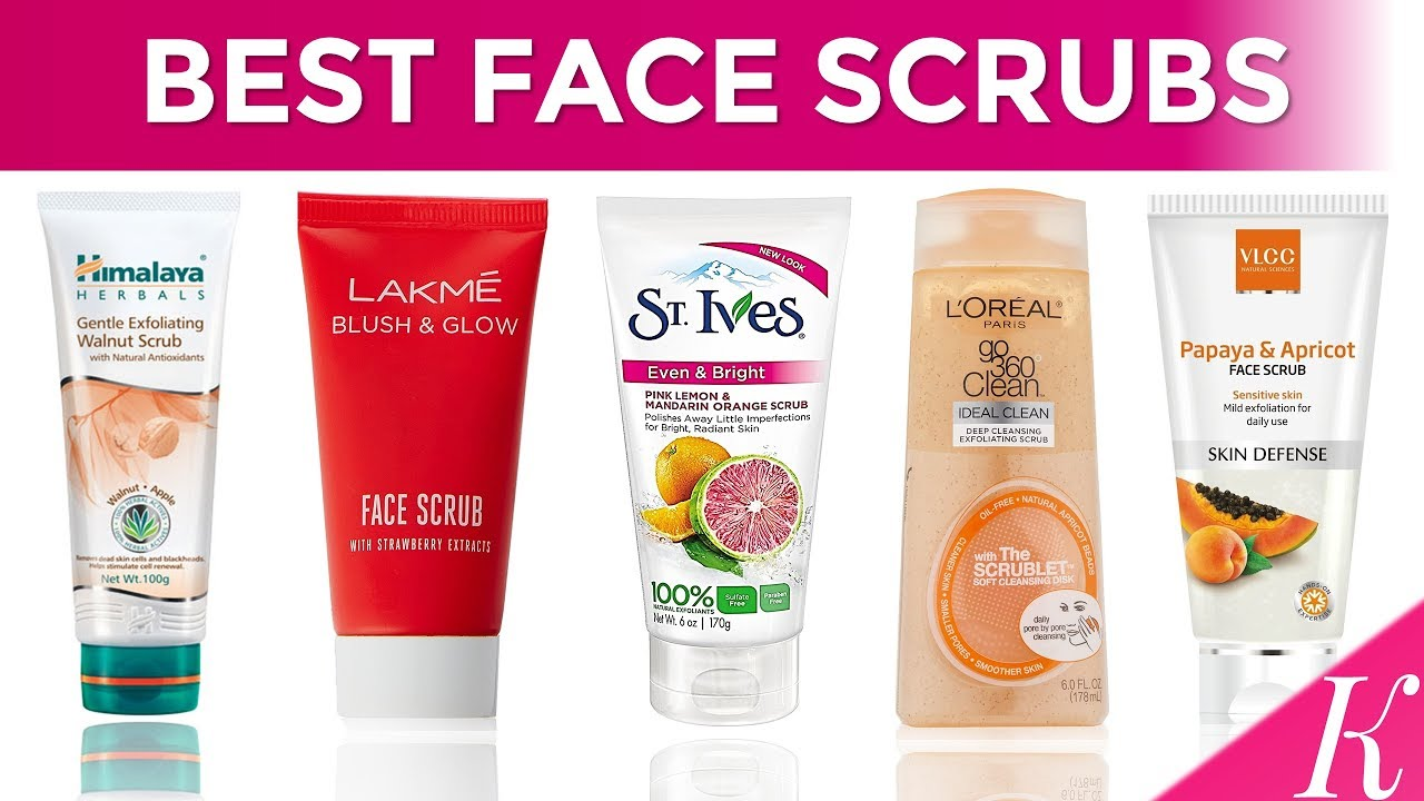 10 Best Face Scrubs In India With Price Face Scrubs For Indian