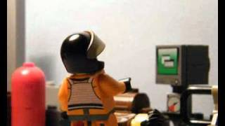 Lego Agent Chase Fight