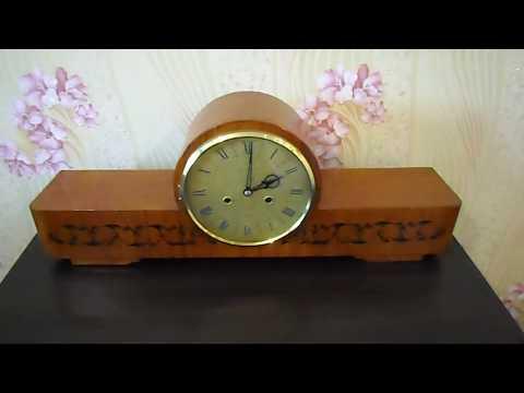 Часы настольные, каминные Янтарь Jantar с боем