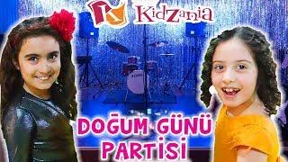 KİDZANİA GEZİSİ ve DOĞUM GÜNÜ PARTİSİ | Umikids Mira Tatil Videosu