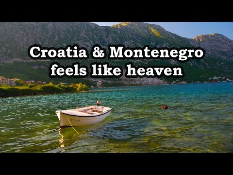 Croatia and Montenegro - Feels Like Heaven . Motorcycle trip across Europe 2015 - part 3