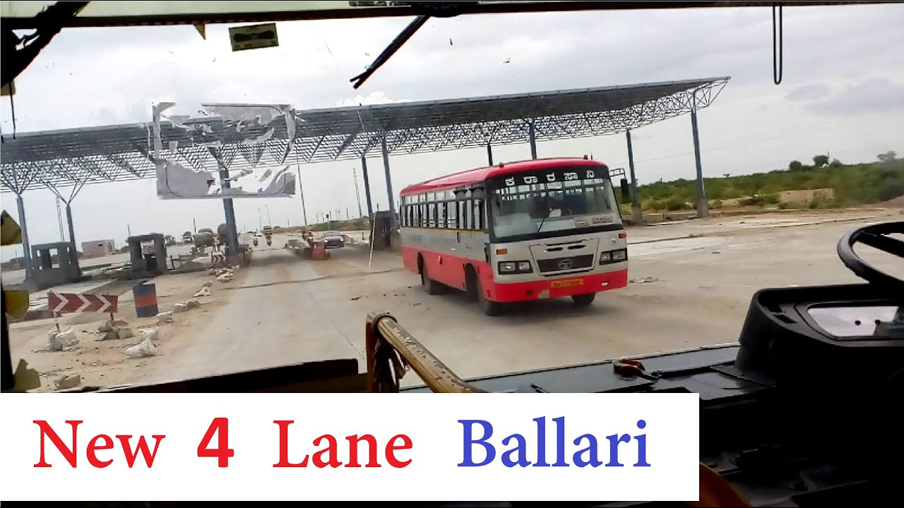 New 4 Lane Highway Progress - Ballari to Challakere | Railway Electrification