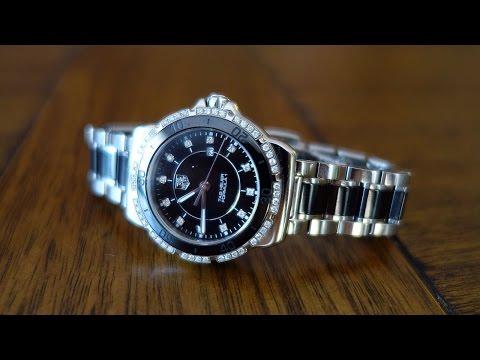 TAG Heuer Formula 1 Steel & Ceramic Diamonds 32mm Ladies Watch Review - Perth WAtch #6