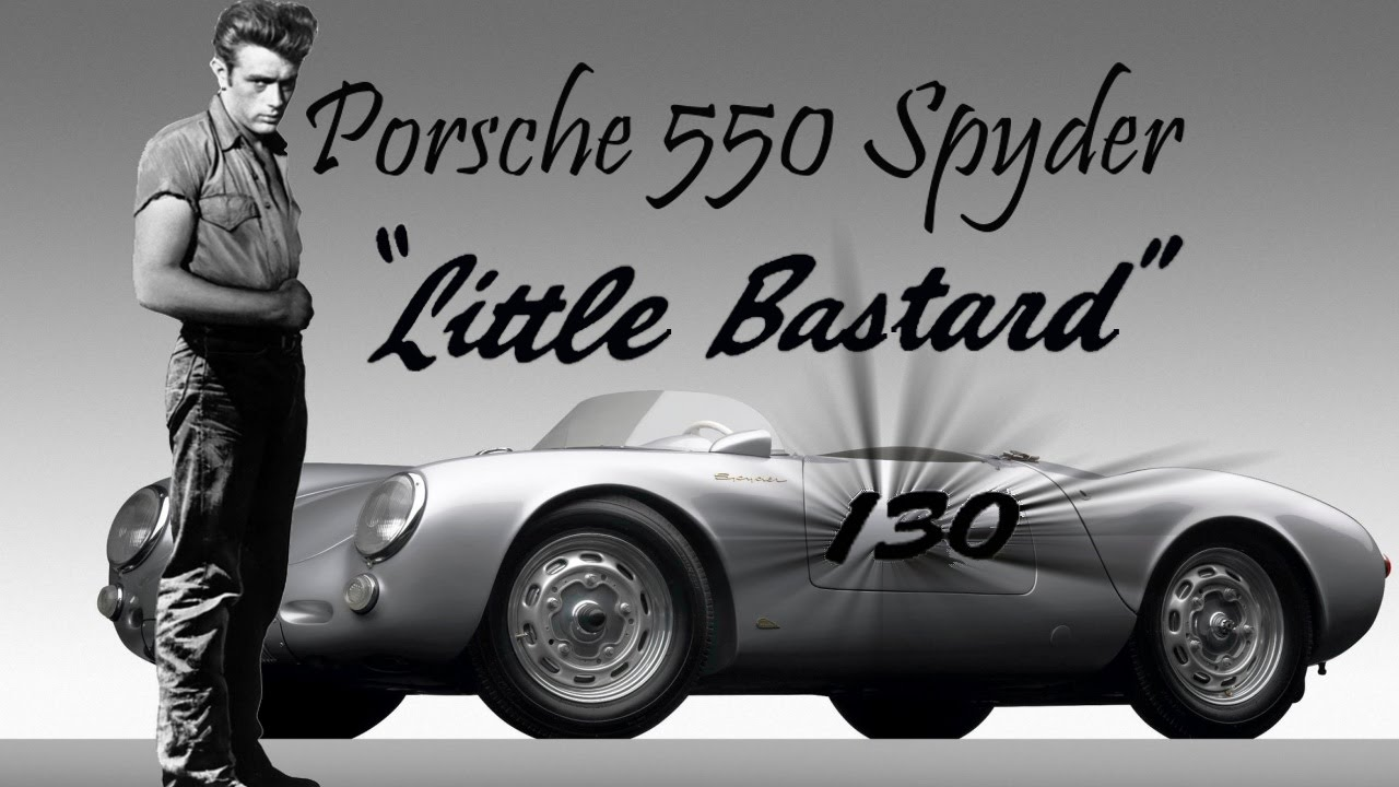 little bastard el porsche maldito de james dean
