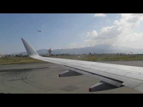 Silk Air Take off Kathmandu - Singapore 31st Oct 2016