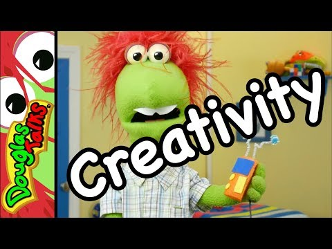 God Made You to be Creative!   A lesson about creativity for kids