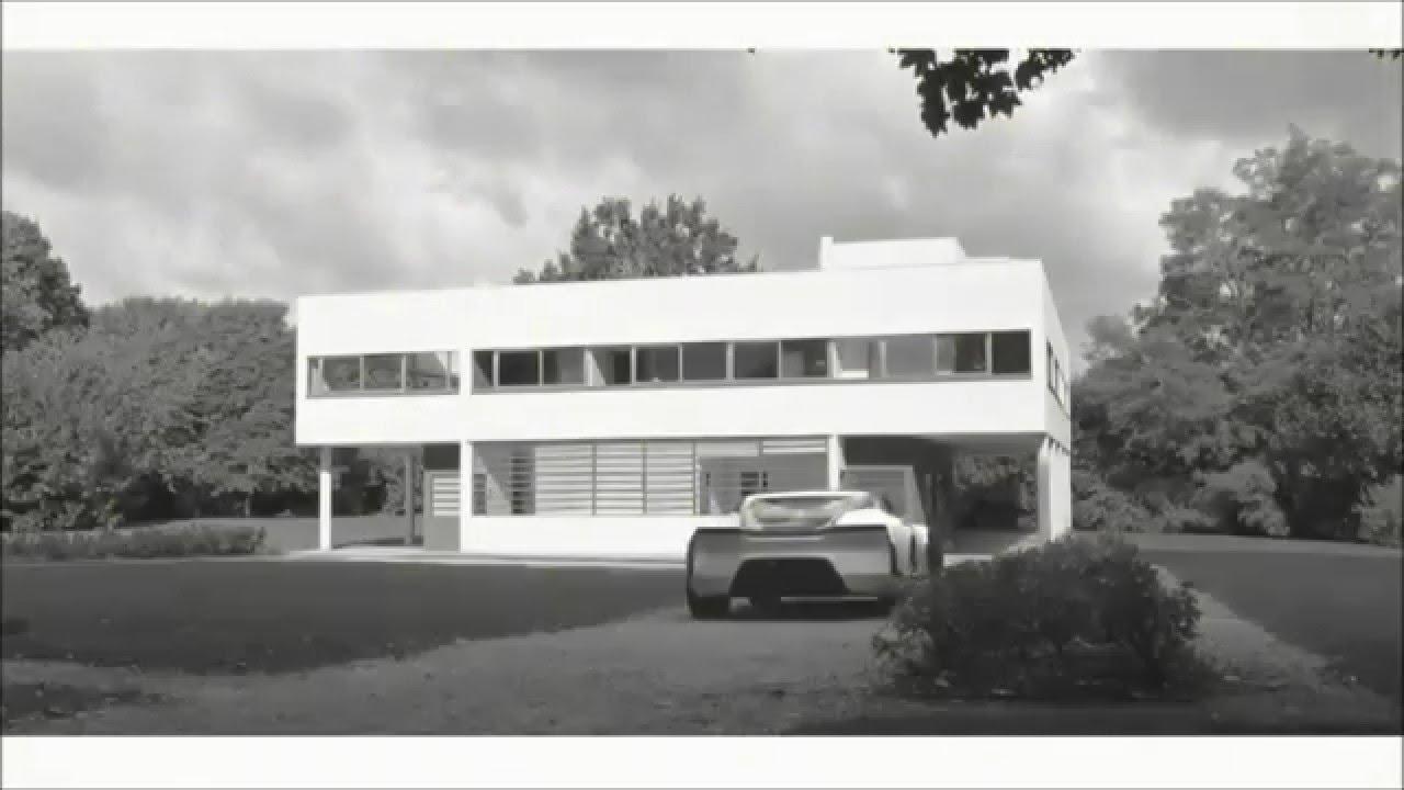 Hommage de Renault Design à l\'architecte Le Corbusier et à la Villa ...