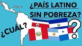 TOP 10 PAÍSES MENOS POBRES DE AMÉRICA LATINA