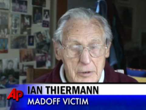 90-Year-Old Madoff Victim Back at Work