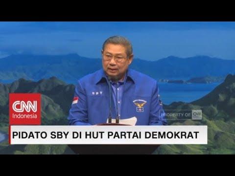Pidato SBY Di HUT Partai Demokrat Ke-17