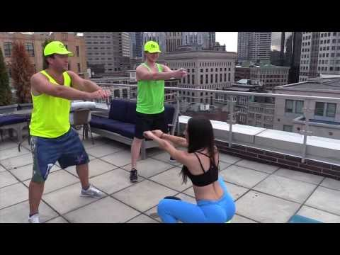 Jen Selter Gives An Ass Workout To Barstool Sports