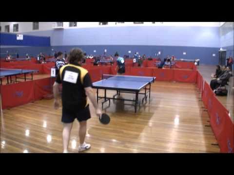 Greg Letts vs David Powell - 2009 Australian Open Teams Match