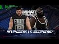 WWE 2K17 ★ Kevin Owens vs Mark Henry ★ GeForce 1070 ✅