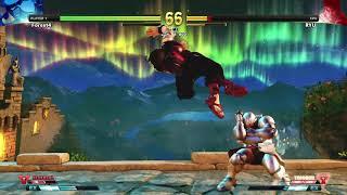 SFVAE Extra Battle Mode Ryu's Arthur Alternate Piece #3 Using Rachid