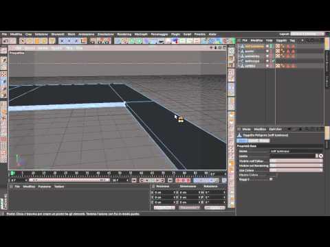 Modellare una stanza con C4D