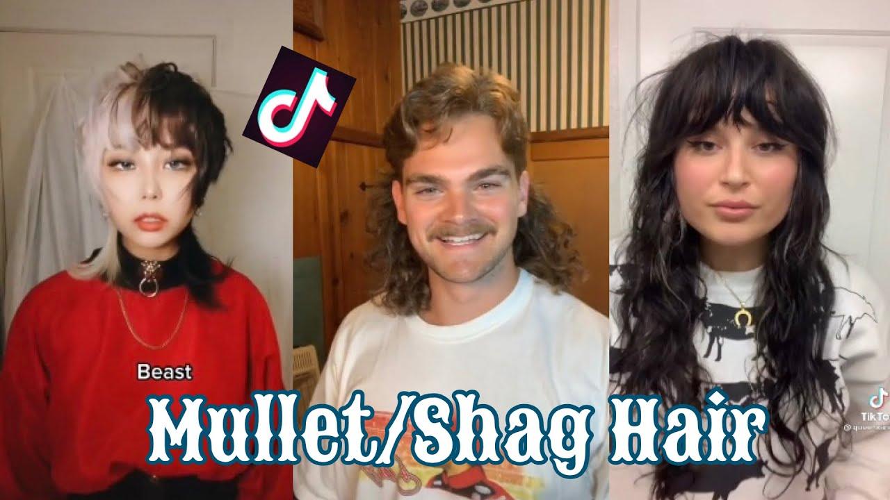 Best Mullet/Shag Hair Transformations 15    Tiktok Compilation