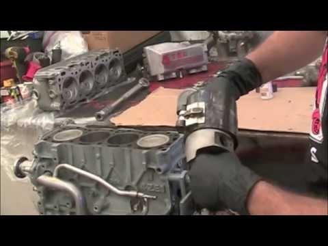 Isuzu Engine Rebuild Piston Rod Installation