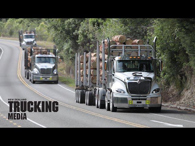 Triple Truck Test | International ProStar R8 IROS HD | Pro-active