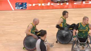 Wheelchair rugby - Australia v Canada - gold medal game - London 2012 Paralympics