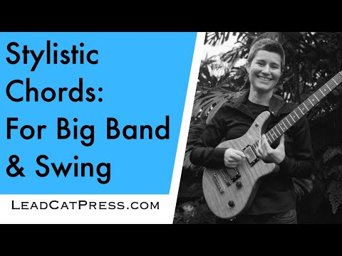 Big Band & Swing Chord Voicings (Stylistic Chords Guitar Lesson) 26 ...