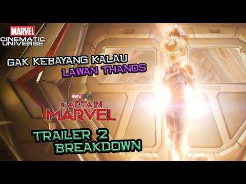 OVER POWER ! Gak Kebayang Kalau Lawan Thanos | Captain Marvel Trailer 2 Breakdown | Marvel Indonesia