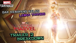 OVER POWER ! Gak Kebayang Kalau Lawan Thanos | Captain Marvel Trailer 2 Breakdown | Marvel Indonesia