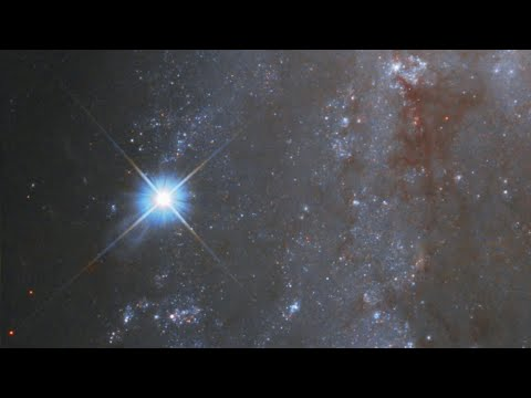 Zoom to Fading Supernova in NGC 2525